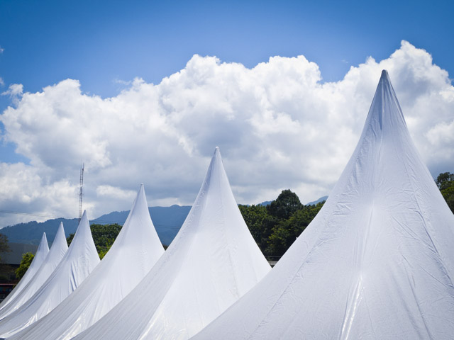 white tent tops
